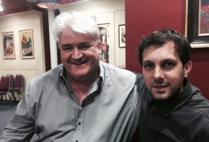 Dave Jones, Oxford Magician and TV magician Dynamo